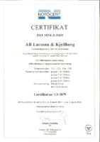ISO 3834-3, svensk